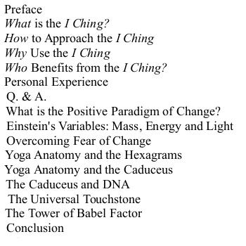 UPSG Part 1 Contents