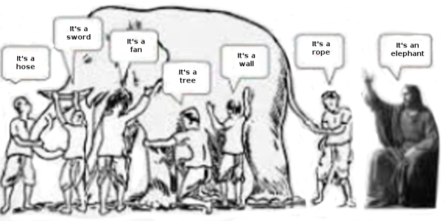 christ & elephant