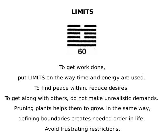 IC 60 Limits