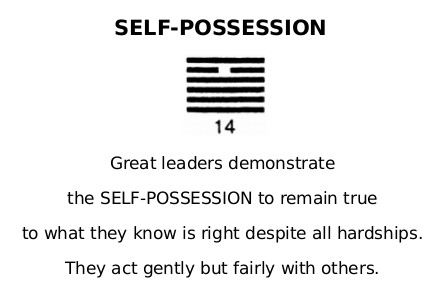 14 Self-Possession
